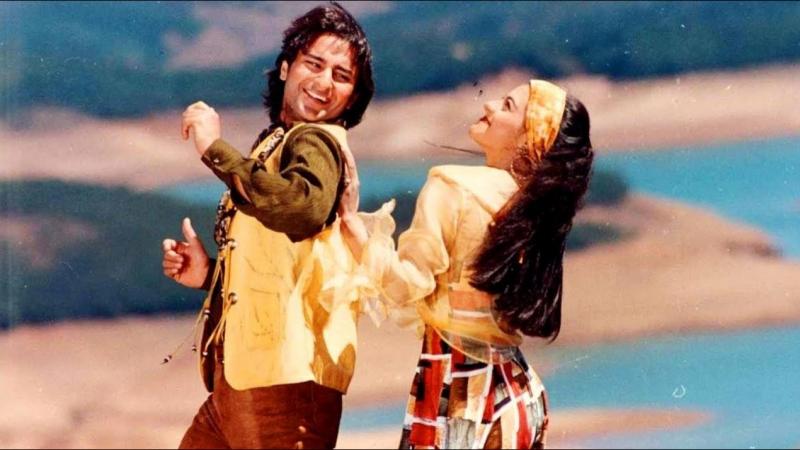 Dil Tujhpe Fida (Hameshaa 1997) Saif Ali Khan and Kajol