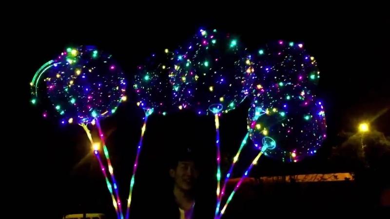 Крутые светящиеся шары!