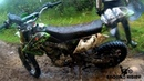 Дорога на Вороньи озера Столкновение мотоциклов!