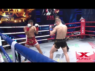 Andrei Kulebin is said to be the best Muay Thai expat, well said.