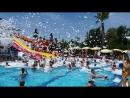 CARETTA BEACH HOTEL 2018 ALANYA'DAKİ EVİNİZ. HAVUZDA KÖPÜK PARTİSİ