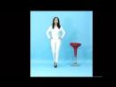 PVC キャットスーツ Asian Beauty huge breasts catsuit Monroe walk