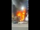 Пожар в Баку. Многоэтажный дом сгорел за минуту-2015