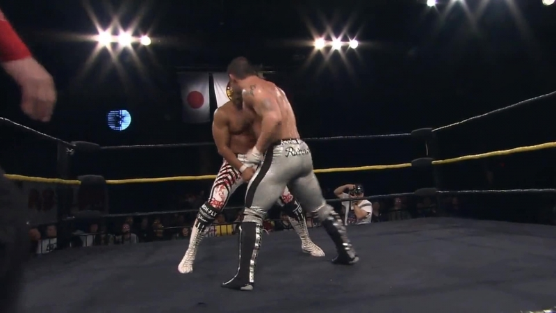 Hiroshi Tanahashi(с) vs. Davey Richards Match for Prosto Tak (Invasion Tour 2011)