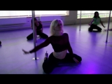 2018 DROWNING - Natalie Vydrina - exotic pole dance
