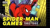 The History of Spider-Man Games Part 1 1982 - 1992 Playing With Powers NowThis Nerd
