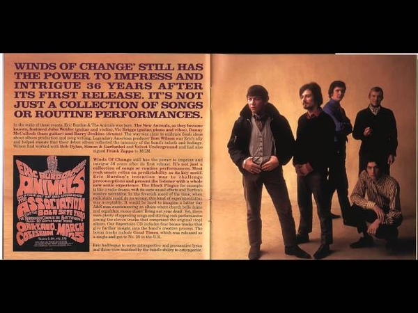 Eric Burdon And The Animals-Winds Of Change (1967) HD