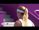 WTA Doha R1 2018 Cibulkova vs Pavlyuchenkova
