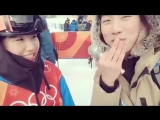 180212  Olympic Winter Games PyeongChang 2018 ~ SK Olympian for Snowboard interview