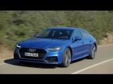 Самый первый тест новейшей Audi A7