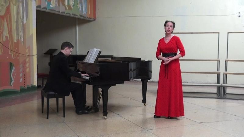 Моцарт Ария Сюзанны из оперы ''Свадьба Фигаро''. исп. Кадочникова Екатерина