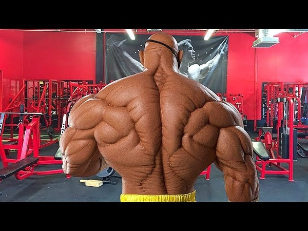 AMAZING BACK - African Shredded Bodybuilder | Workout Motivation 2018