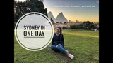 One day in SYDNEY. Cabin crew life. Один день в Сиднее.