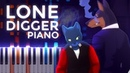 Caravan Palace · Lone Digger · Ragtime LyricWulf Piano Tutorial on Synthesia