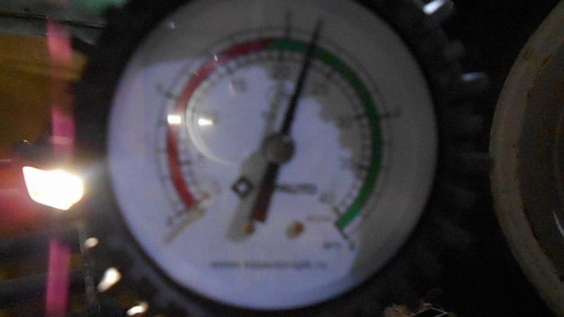 Измерение компрессии HINO Ranger 94г.