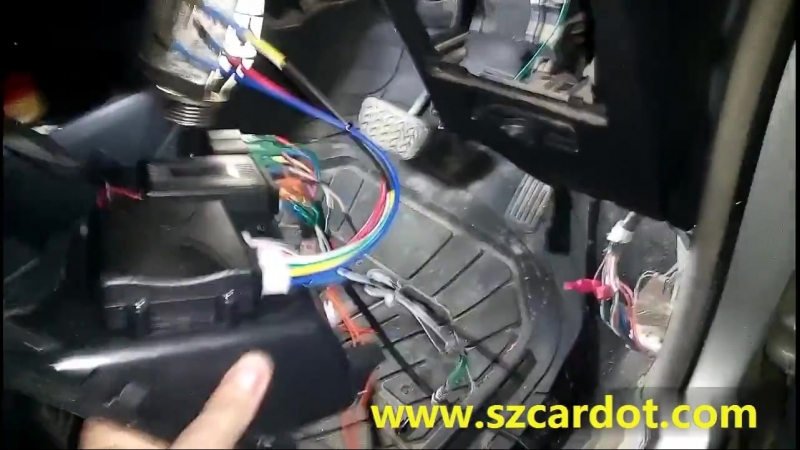 Rfid engine start stop kit installation and testing video working with car keyless entry or remote central lock system