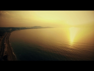 Cinematic Drone  Above The Sea ¦ Rhodes, Greece Part I