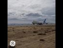 Первый испытательный полет GE9X