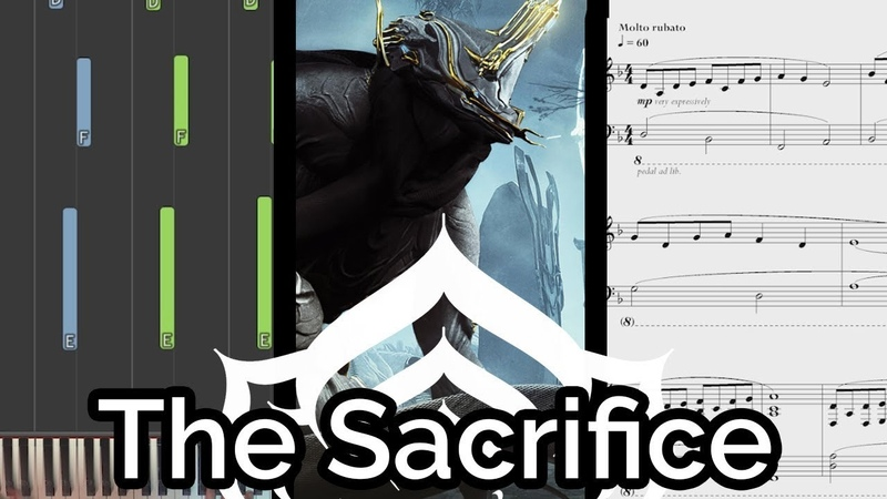 Smiles from Juran/'To Take Away Its Pain' - Warframe (The Sacrifice OST) (Piano Cover Synthesia)