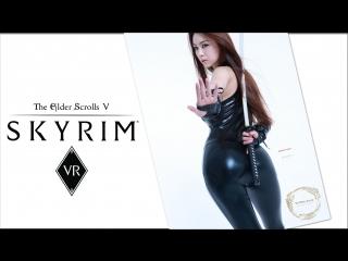 Skyrim VR with mods // The Elder Scrolls V // live stream, chat