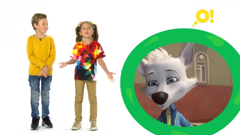 Никита и Саша представляют мультсериал «Белка и Стрелка. Озорная семейка» на канале «О!»