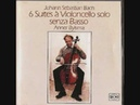 Anner Bylsma Bach Cello Suite 6, Prelude