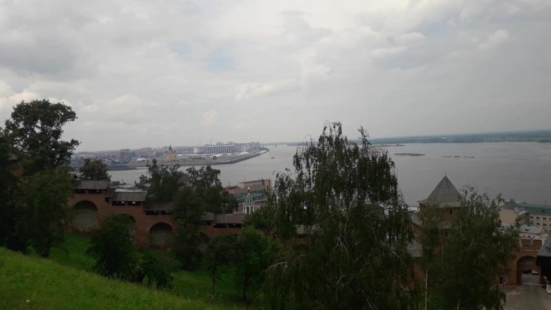 08.07.2018 Вид на Волгу с Ниждегородского Кремля