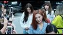 180817 4k 레드벨벳 Red Velvet 전체 출근길 BY 신씨 147Company kbs 뮤직뱅크 신관공개홀 직캠 fancam