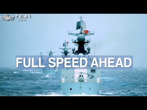 Chinese Navy conducts its largest military drills in South China Sea