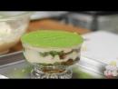 Green Tea Tiramisu Recipe (Irresistible Matcha Italian Cake with NO Heavy Cream) - Cooking with Dog