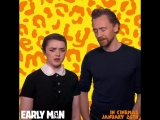 Maisie Williams, Tom Hiddleston - Would you rather