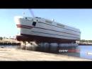 7 захватывающих спусков судна на воду