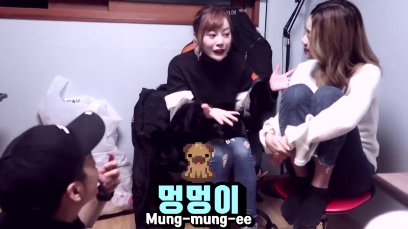 "The World of Dave – Erina tries to pronounce ""Puppy"" and Amber surprises Vai (180123)"
