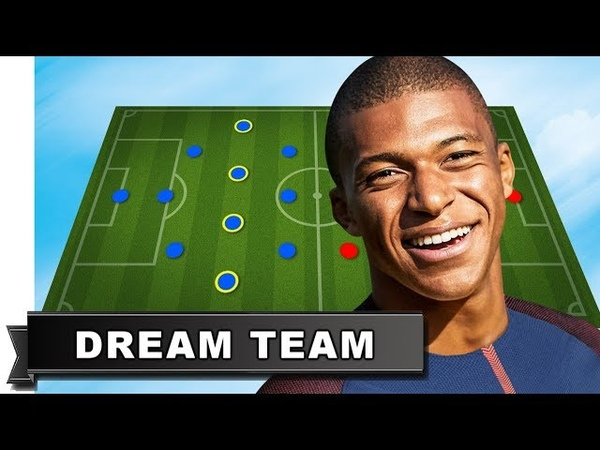 Kylian Mbappe has picked his Dream Team (All-Time Best XI)