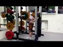 Башкатова Наталья, присед raw squat 100кг