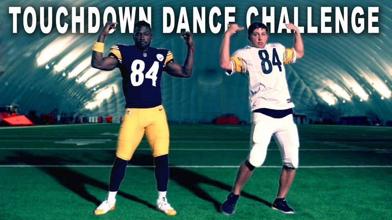 TOUCHDOWN DANCE CHALLENGE w Antonio Brown Matt Steffanina Madden19