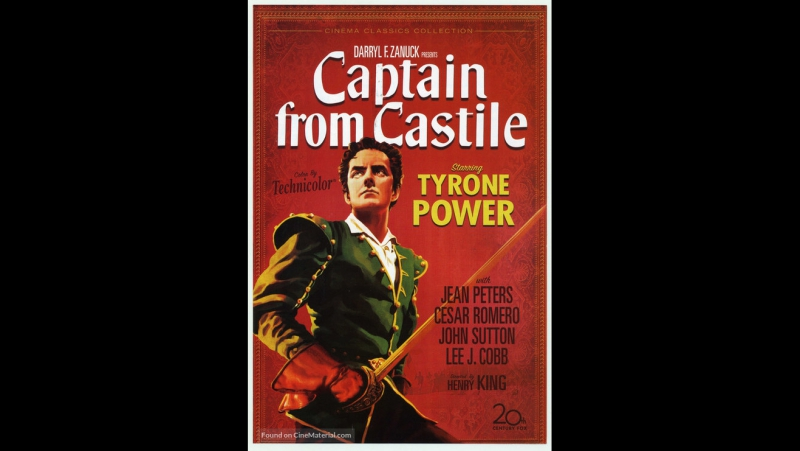 Captain from Castile (1947) HD Tyrone Power, Jean Peters, Cesar Romero