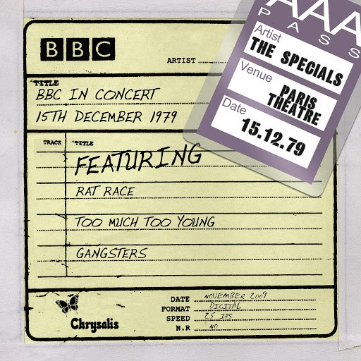 The Specials альбом BBC in Concert (15 December 1979)