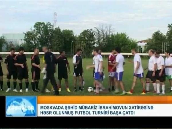 Mübariz İbrahimovun xatirəsinə həsr olunmuş futbol turniri başa çatdi