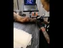 Horror tattoo process