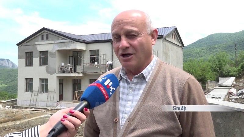 Հադրութի շրջանի Տումի գյուղը շուտով նոր հ13