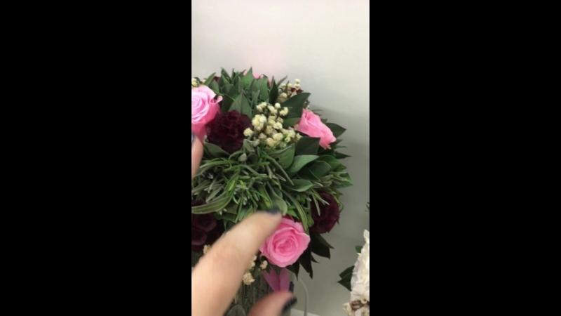 живые Стабилизированные Цветы на 5 лет Букеты Вечная Роза Крым Оригинал