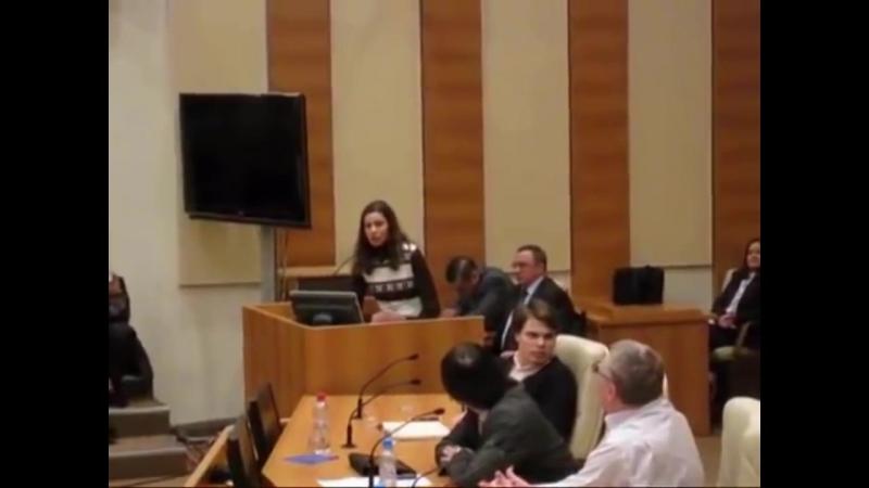 Девушка опустила Путина и Жириновского в прямом эфире. Путин вор, Жирик его шавк
