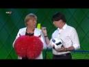 Angela Merkel bereitet sich mit Jogi Löw auf die Fußball-EM vor