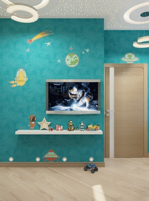 Детская для будущего космонавта