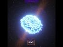Астрономы услышали гравитационные волны от слияния нейтронных звезд