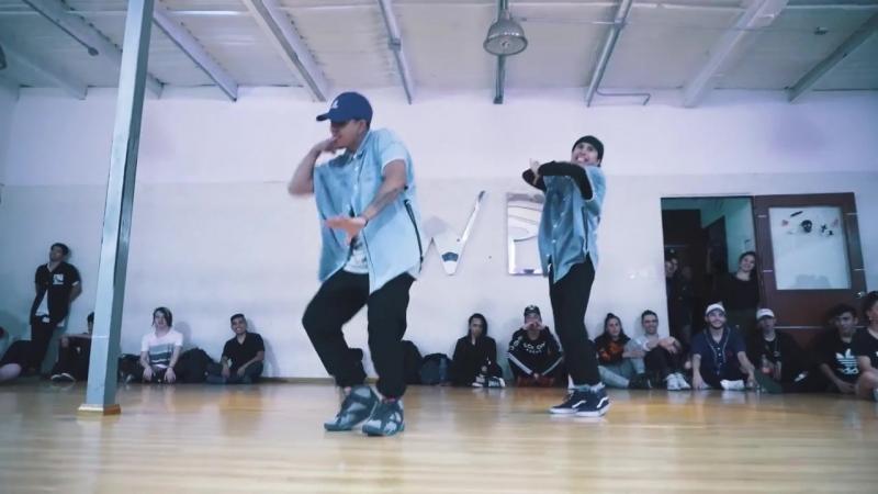 La mejor coreografía de MAYORES - Becky G ft. Bad Bunny CHOREOGRAPHY BY Cuesta brothers