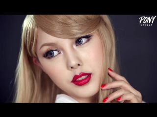 Taylor swift transformation make up
