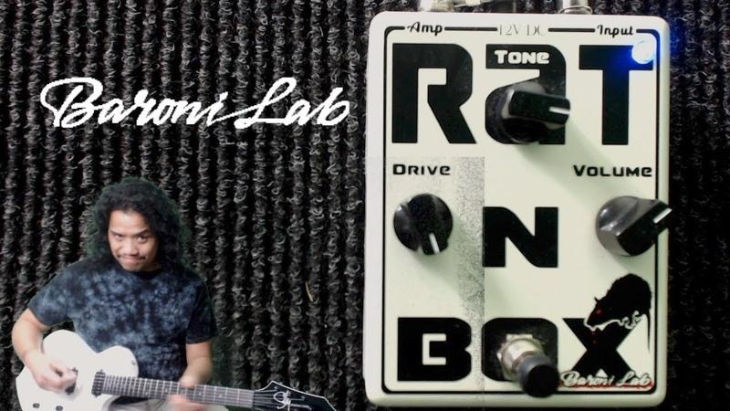 Baroni Lab Rat N Box - Dirty 80's Drive Tones! | Sully Guitars '71 Starling