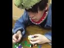 малыш и его игрушки